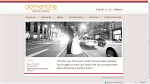 www.clementinecustomevents.com